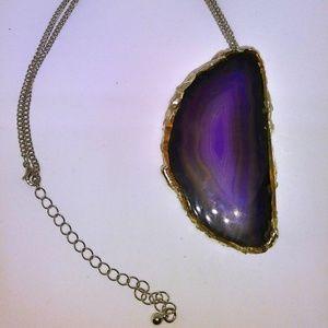 Of All Things She Made Jewelry Handmade Purple Agate